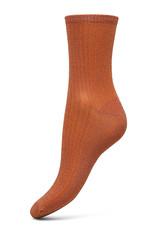 Becksondergaard Dina Glitz Russet Orange Socks 37/39