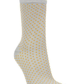 Becksondergaard Dina Small Dots Honey Yellow Socks 39/41