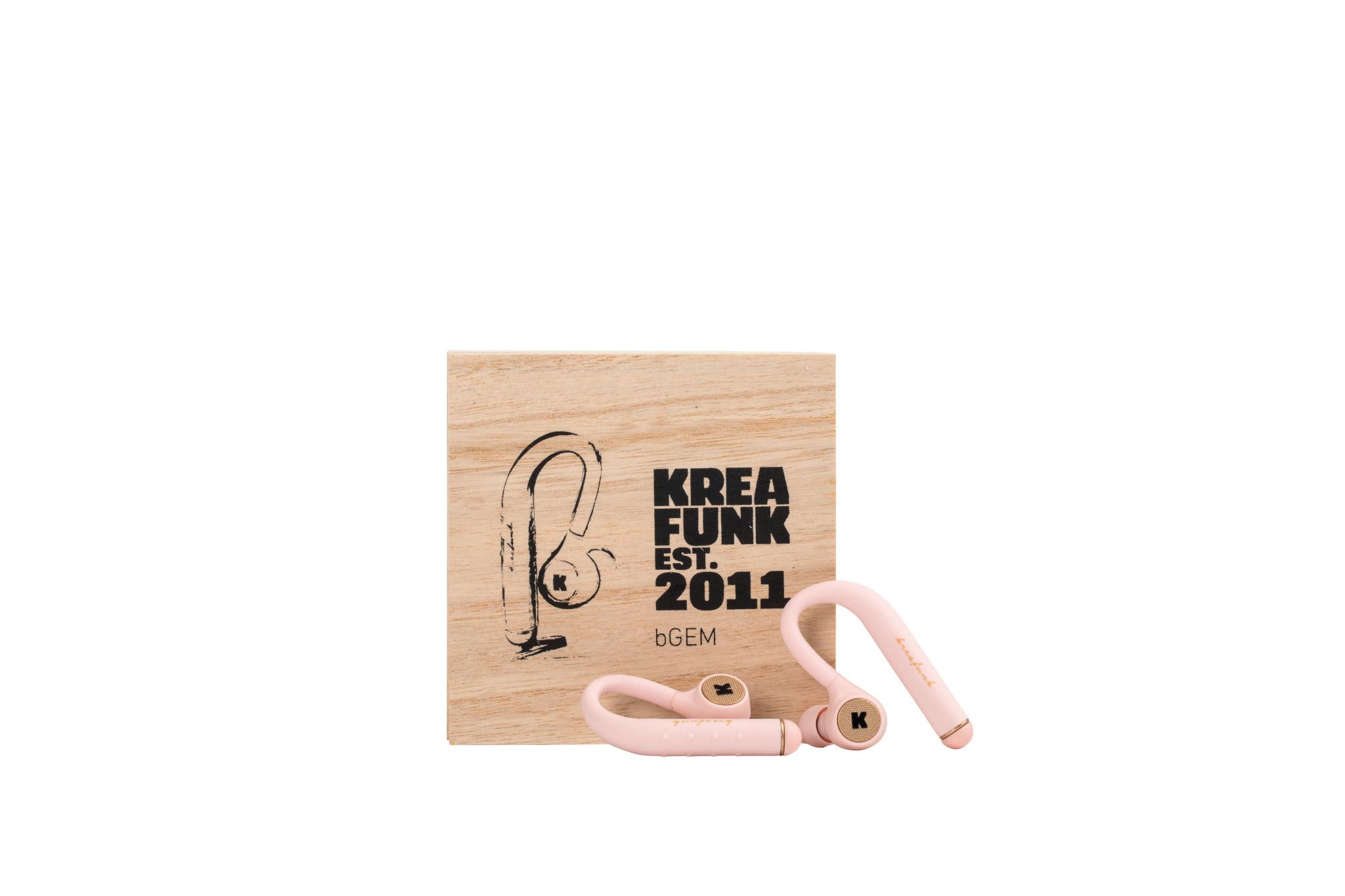Kreafunk Kreafunk bGem in-ear headphones Dusty Pink