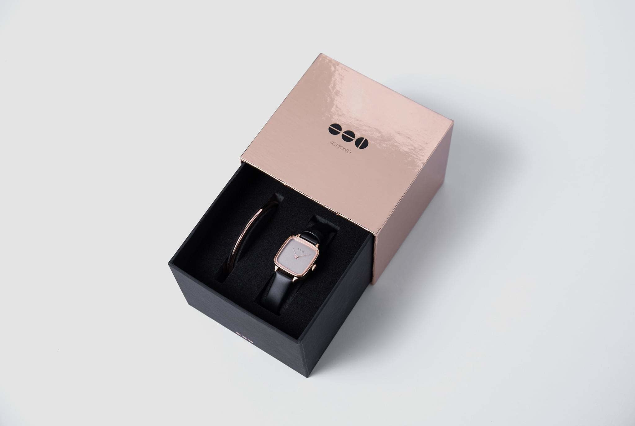 Komono Komono Kate black rose + bangle gift set