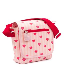 Zebra Zebra bag - stripes & hearts