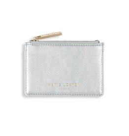 Katie Loxton Katie Loxton Alexa metallic card holder - silver