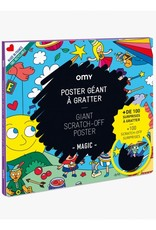 OMY OMY poster 70 x 100 cm  scratch poster Magic