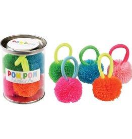 Rex London Pom pom hair bands