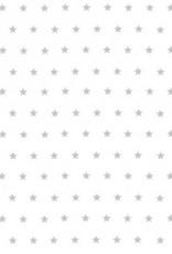 Ambiente Napkin 25x25 cm 'silver stars' 20 pcs