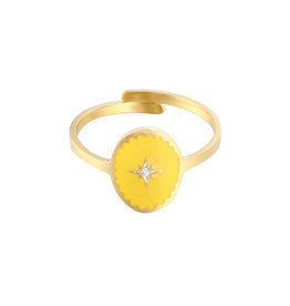 With love With Love ring - Lollipop gold yellow
