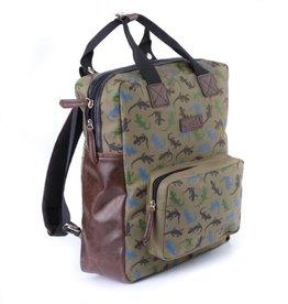 Zebra Backpack XL Boys - Salamander 35x28x11cm