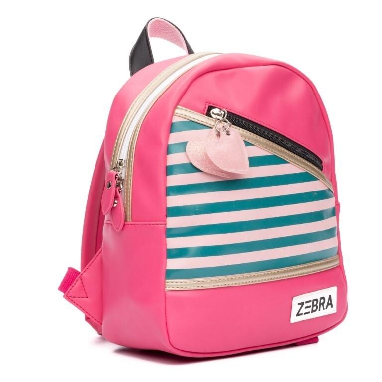 Zebra Zebra backpack Holidays pink - 30x25x11cm