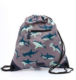 Zebra Luxe swimming bag with zipper - Shark
