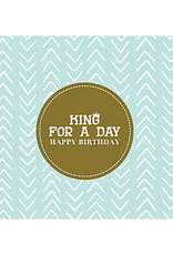 Enfant Terrible Enfant Terrible card + enveloppe 'King for a day'