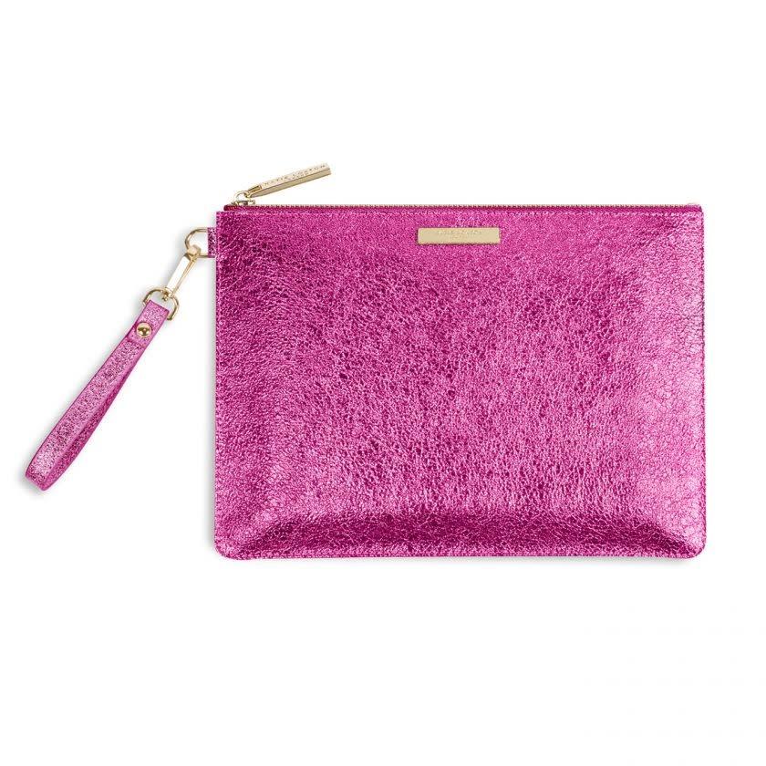 Katie Loxton Katie Loxton Krush clutch metallic pink - 20x29 cm