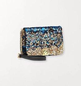 Beck Söndergaard Glitz Maika bag - classic blue :  20,5 x 14,5 cm