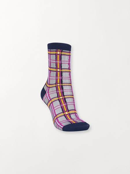 Beck Söndergaard Dagmar multi check socks 39/41