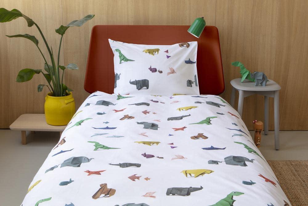 Snurk Bedding Snurk Paper Zoo 140 x 200/220 cm