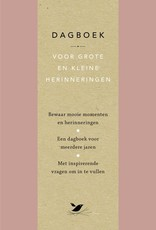 Lannoo Uitgeverij Dagboek voor grote en kleine herrinneringen