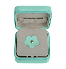 With love Jewellery box aqua 10.50 x 10.50 cm