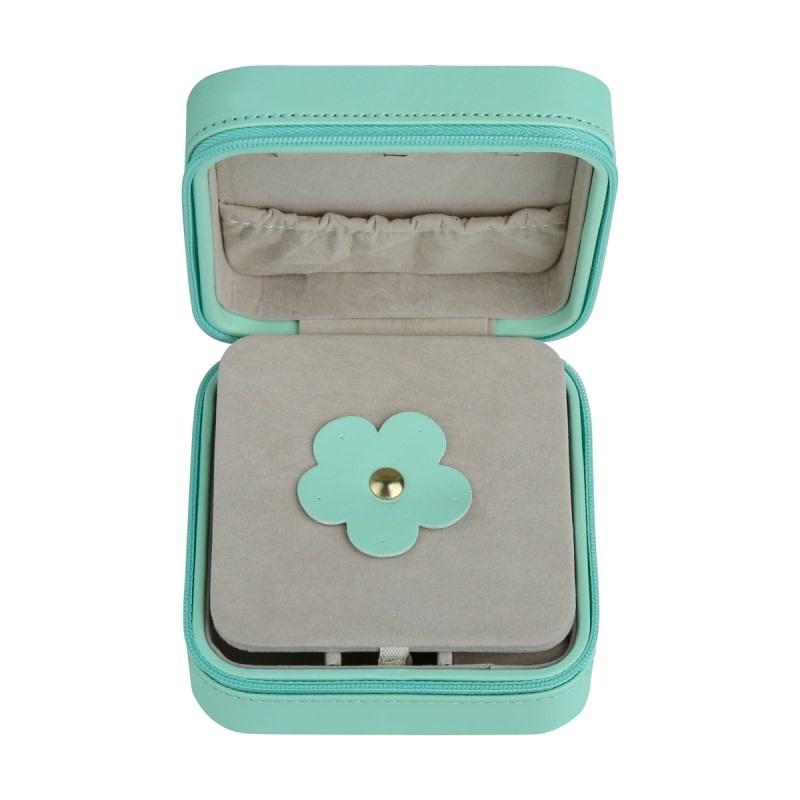 With love Jewellery box aqua 10.50 x 10.50 cm