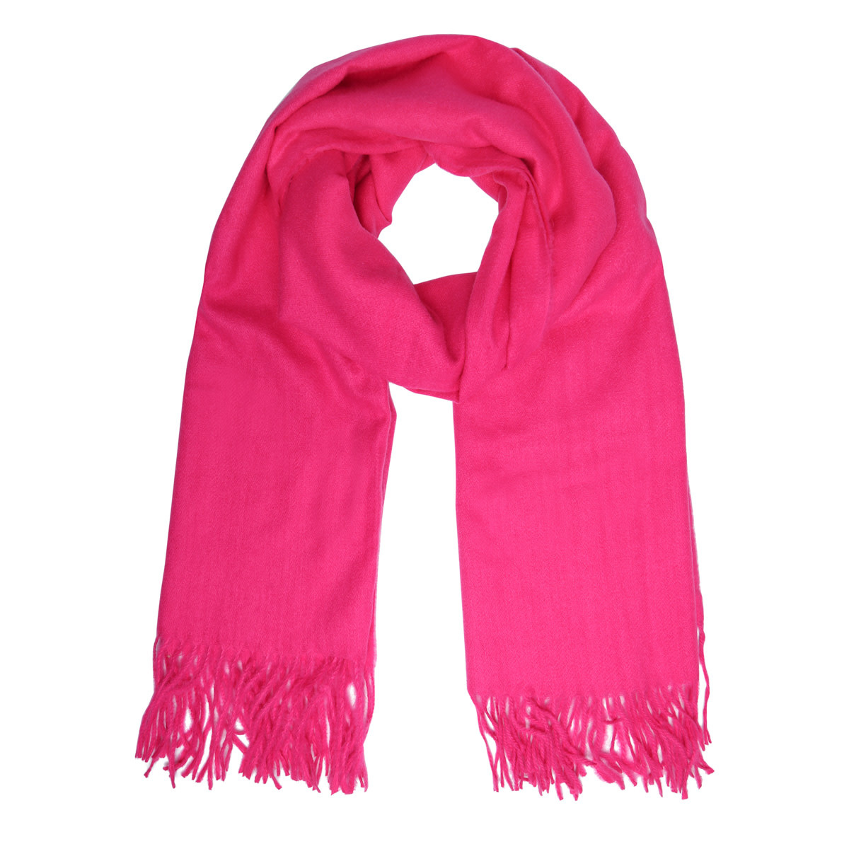 With love Scarf chilled fushia