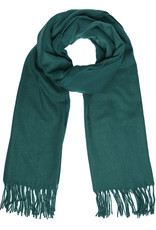 With love Scarf chilled dark green