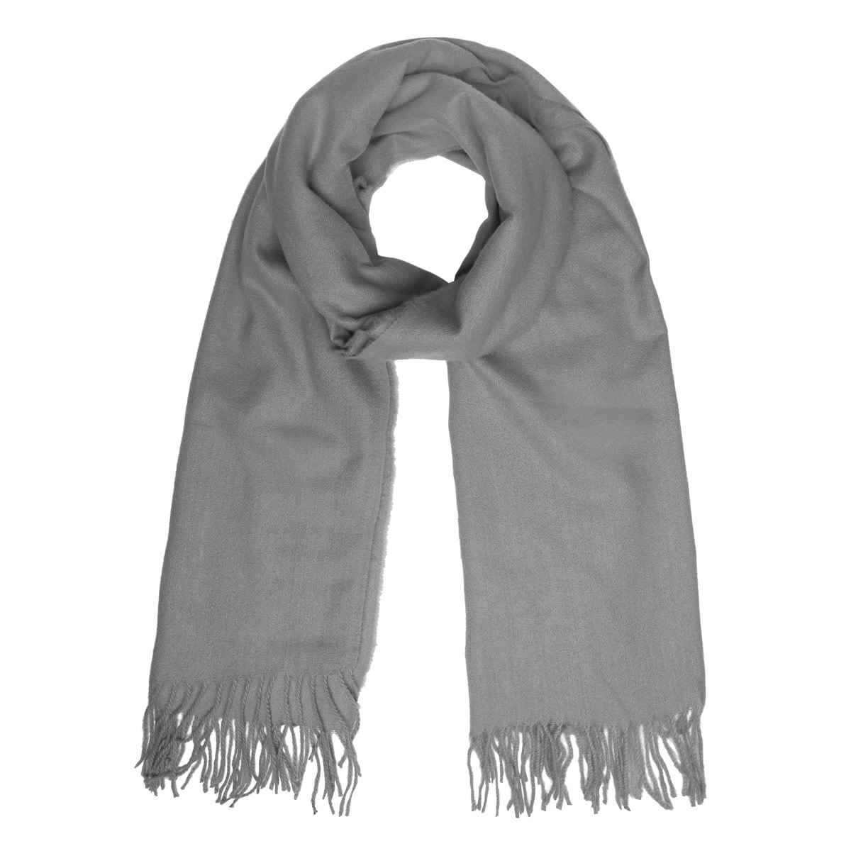 With love Scarf chilled grey