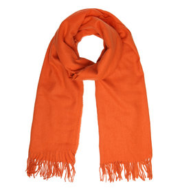 With love Scarf chilled orange