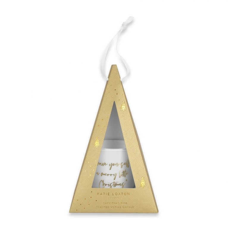 Katie Loxton Katie Loxton votive candle - Have yourself a merry little christmas'