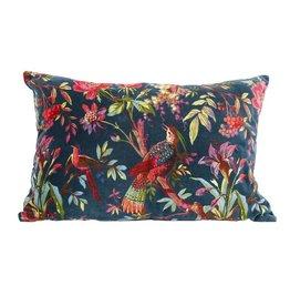 Imbarro Pillow velvet paradise 40x60 cm petrol