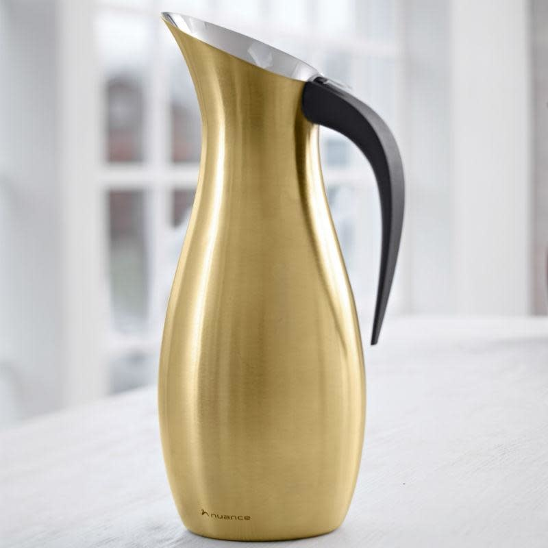 Nuance Nuance stainless steel water jug 1.7 L - brass
