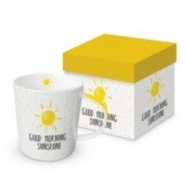 Paperproducts Design Trend mug in box 'Good morning sunshine'
