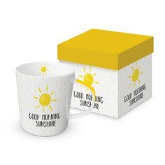 Paperproducts Design Trend mug in box 'Good morning sunshine'