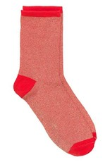 Beck Söndergaard Dina solid socks - red love 37/39