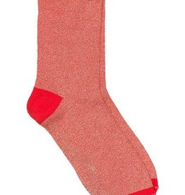 Beck Söndergaard Dina solid socks - red love 39/41