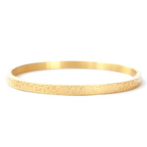 With love With love bangle gold - leopard print
