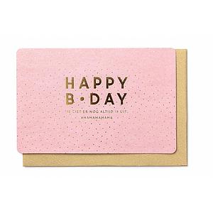 Enfant Terrible Enfant Terrible card  + enveloppe 'happy birthday'