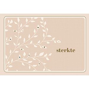 Enfant Terrible Enfant Terrible card + enveloppe 'Sterkte'