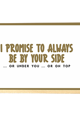 Enfant Terrible Enfant Terrible card + enveloppe 'I promise to always be by your side'