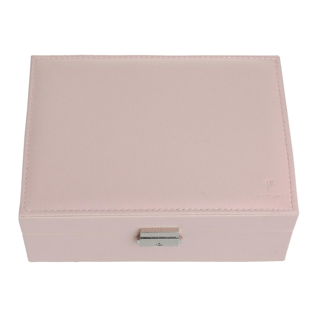 With love Jewellery box pink 23 x 17 cm