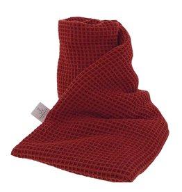 Janneke's warmtesjaal Janneke's warmtesjaal 70 x 20 cm- lijnzaad bordeaux