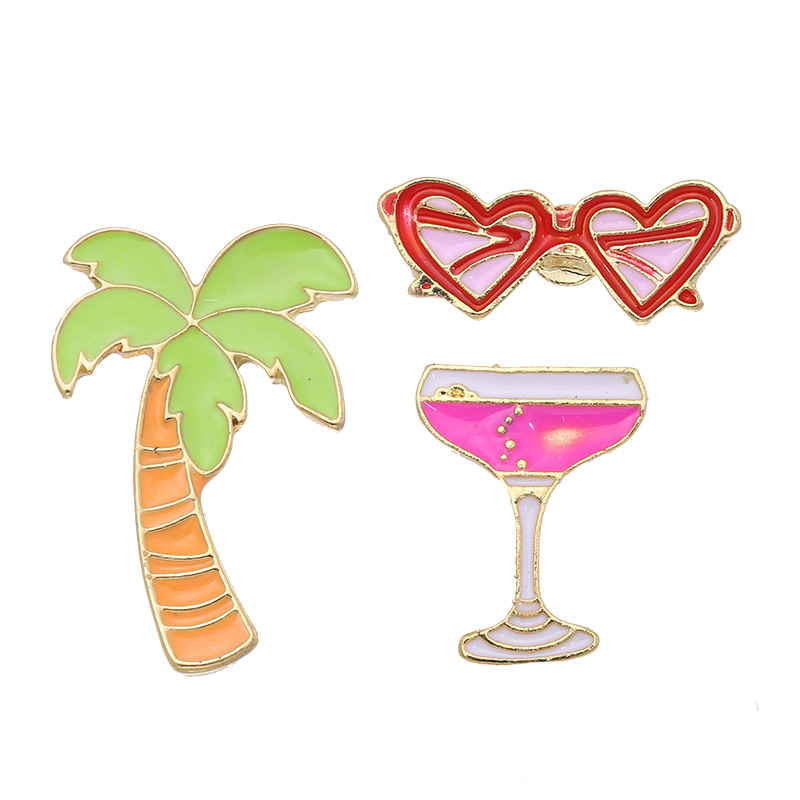 With love Set of 3 pins holiday