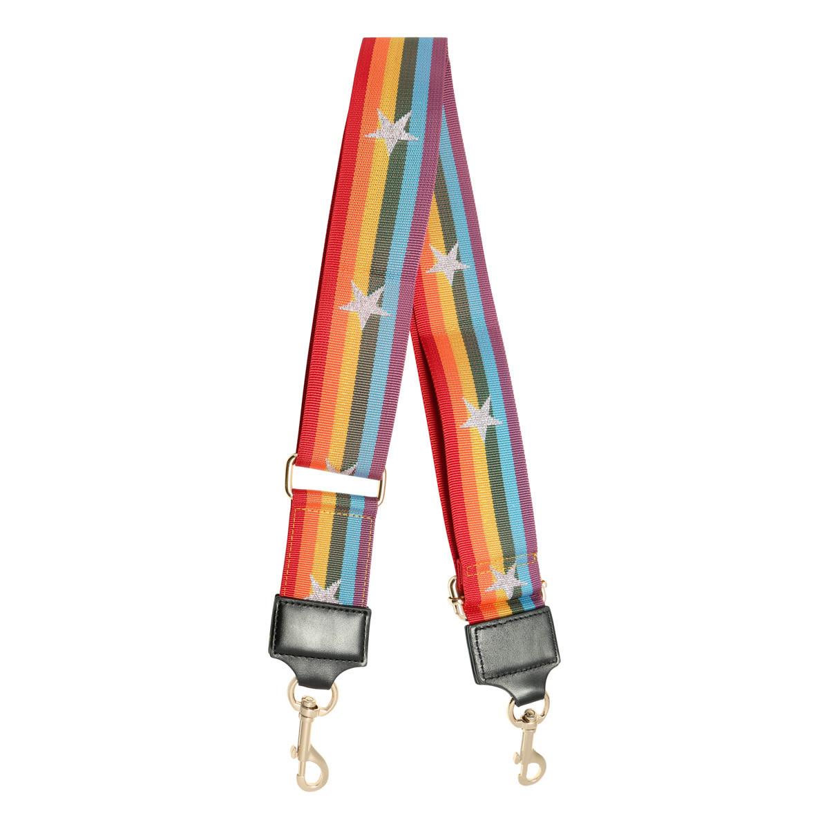 With love Bag strap Rainbow
