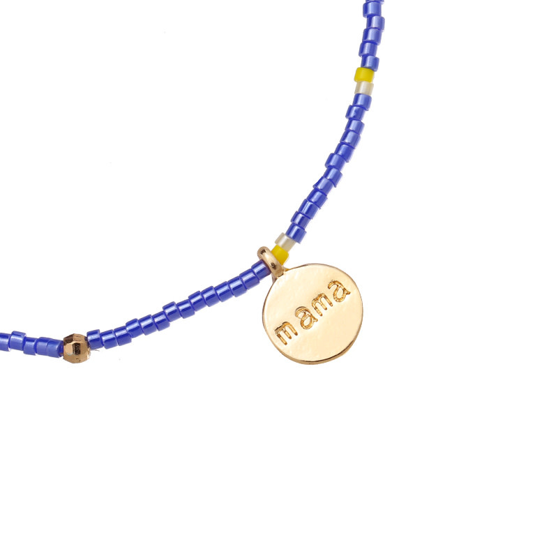 With love Bracelet - Lovely mama blue