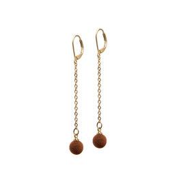 B-Jewels B-Jewels earrings Chloé brown