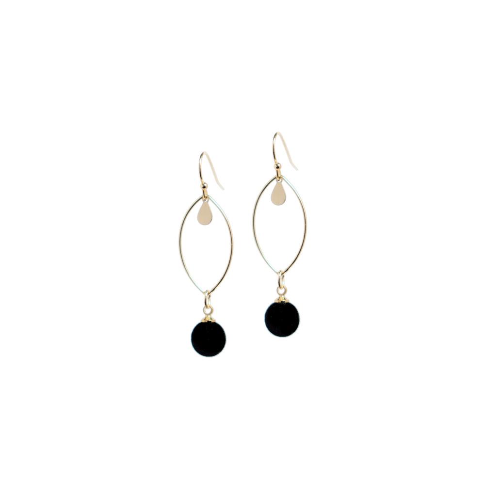 B-Jewels B-Jewels earrings Liv black