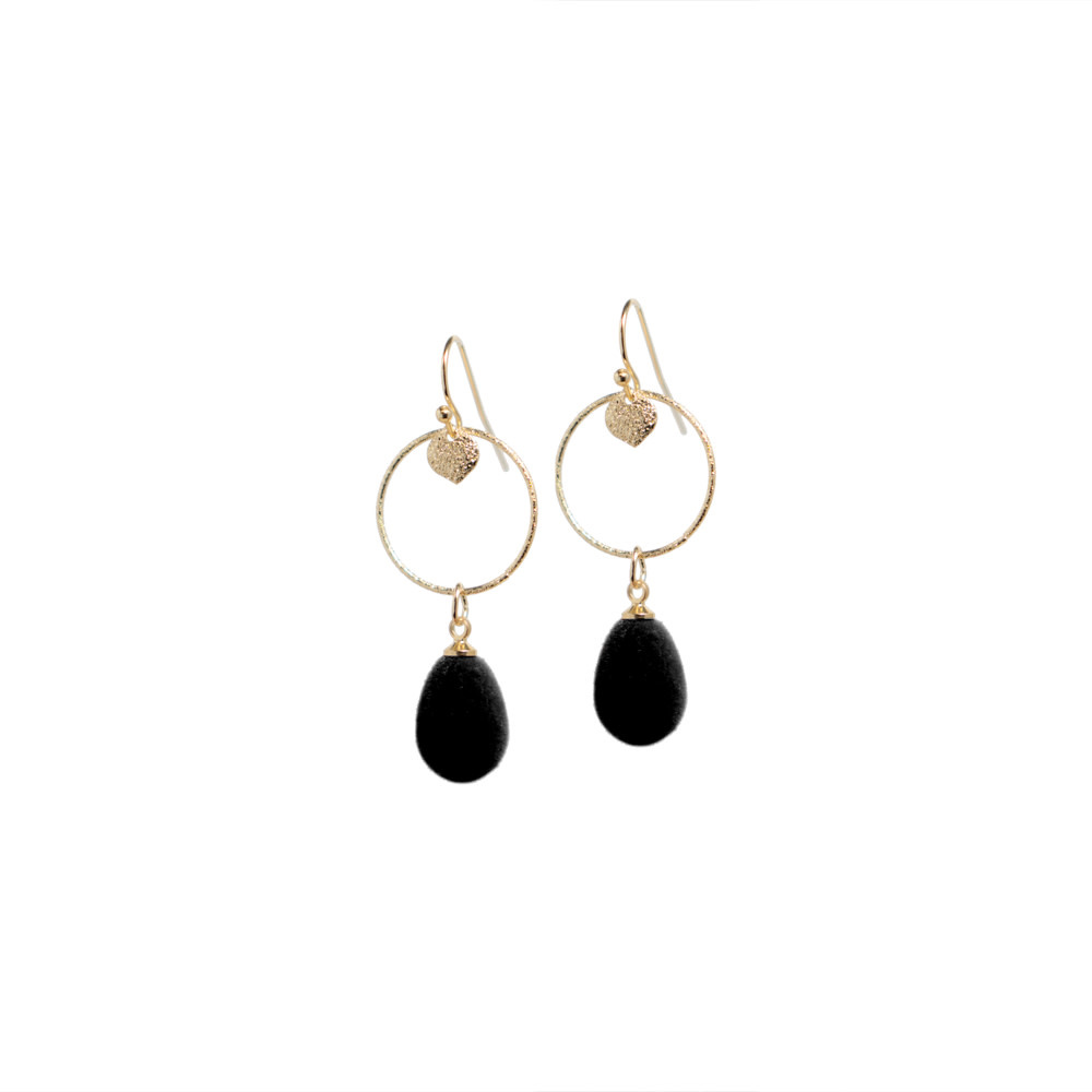 B-Jewels B-Jewels earrings Paulien black