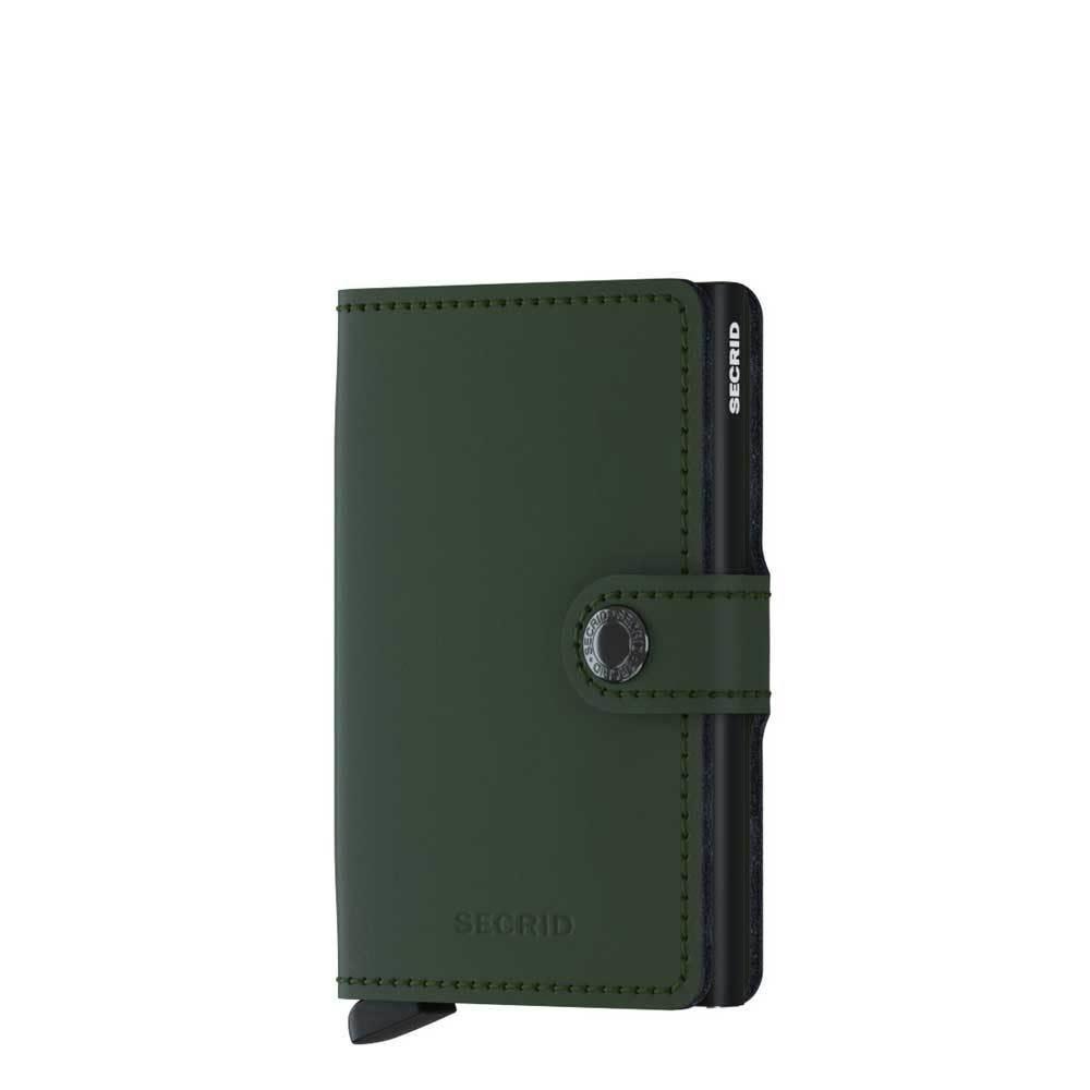 Secrid Secrid miniwallet matte - Green black
