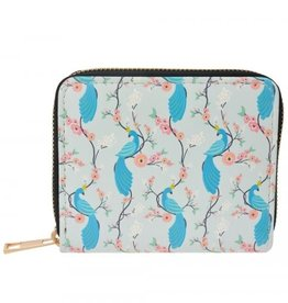 With love Wallet small - peacock