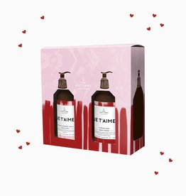 The Gift Label Gift box - 'Je t'aime' hand soap + lotion