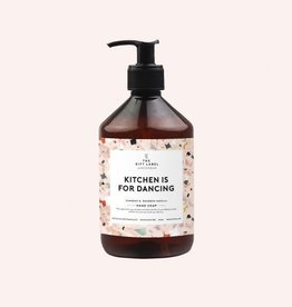 The Gift Label Hand soap 500 ml - Kitchen is for dancing - terrazo