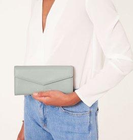 Katie Loxton Katie Loxton Esme envleloppe purse - Money money money - grey - 10 x 20 x 2.5 cm