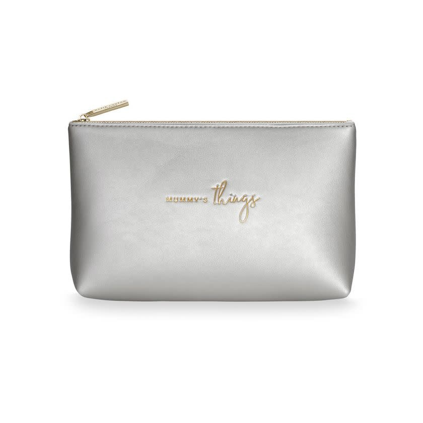 Katie Loxton Katie Loxton Organiser bag - Mummy's things - Metallic silver 14 x 22 cm